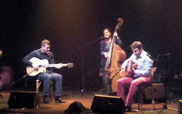 Concert à l'Espace Django Reinhardt - Strasbourg - 10/10/2015